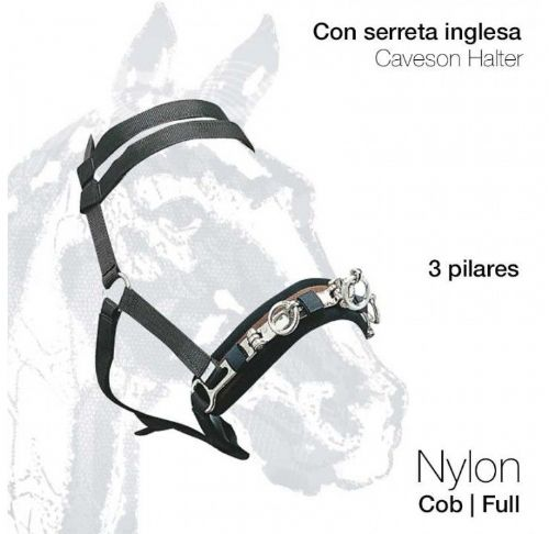 Nylon lunging cavesson